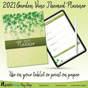 Garden Vine Etsy Listing