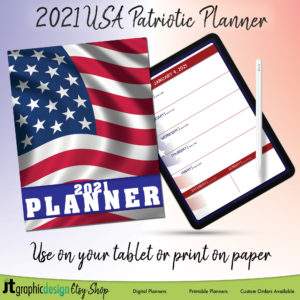 2021 USA Digital Planner